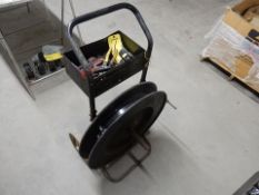 BANDING/STRAPPING CART W/STEEL BANDING