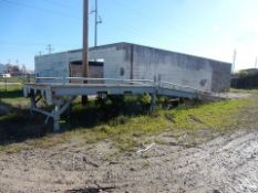 """APPROX. 8'6"""" X 14' PORT. LOADING RAMP W/32' INCLINED APPROACH"""