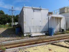 PARTS HOUSE W/TRANSFORMER & HVAC UNIT