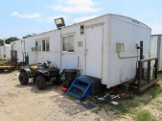 """SKIDDED OFFICE BLDG., 13'-8"""" X 59'-6"""", w/CONTENTS"""