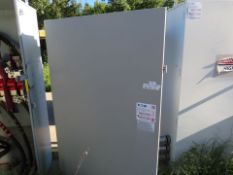EATON 600 VOLT-1200 AMP DOUBLE THROW PAD-MOUNTED DISCONNECT BOXES (LABELED MAIN POWER GENERATOR #1)