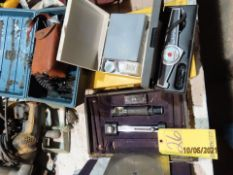 LOT PORT. HARDNESS TESTER, H2S MONITOR, MICKROTEST THICKNESS GAUGE, TESTEX THICKNESS GAUGE