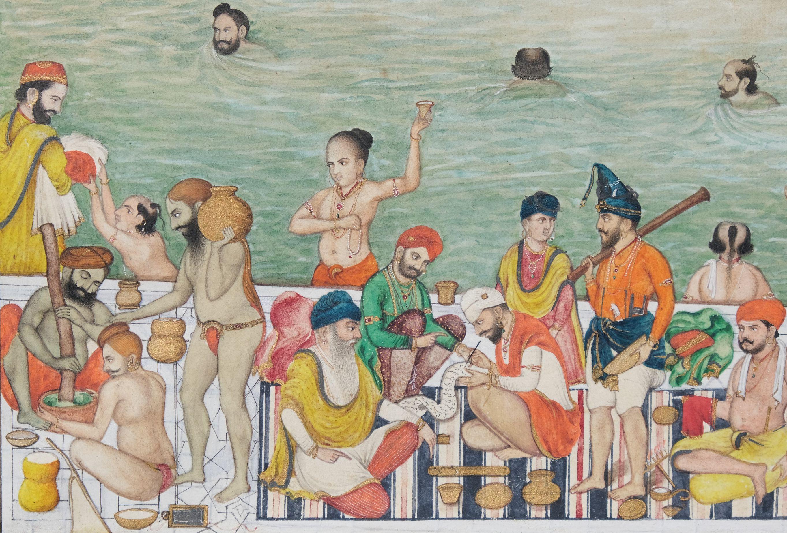 Scènes de vie au Harmandir Sahib, le Temple d'Or d'Amritsar Inde du nord, Penjab, Amritsar - Image 5 of 9