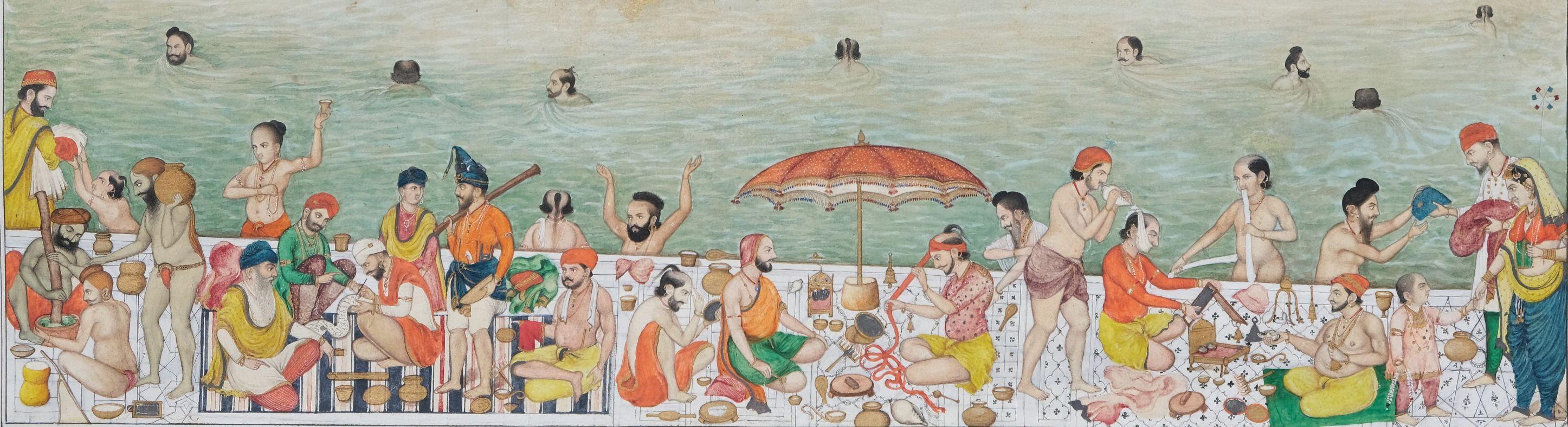 Scènes de vie au Harmandir Sahib, le Temple d'Or d'Amritsar Inde du nord, Penjab, Amritsar - Image 4 of 9