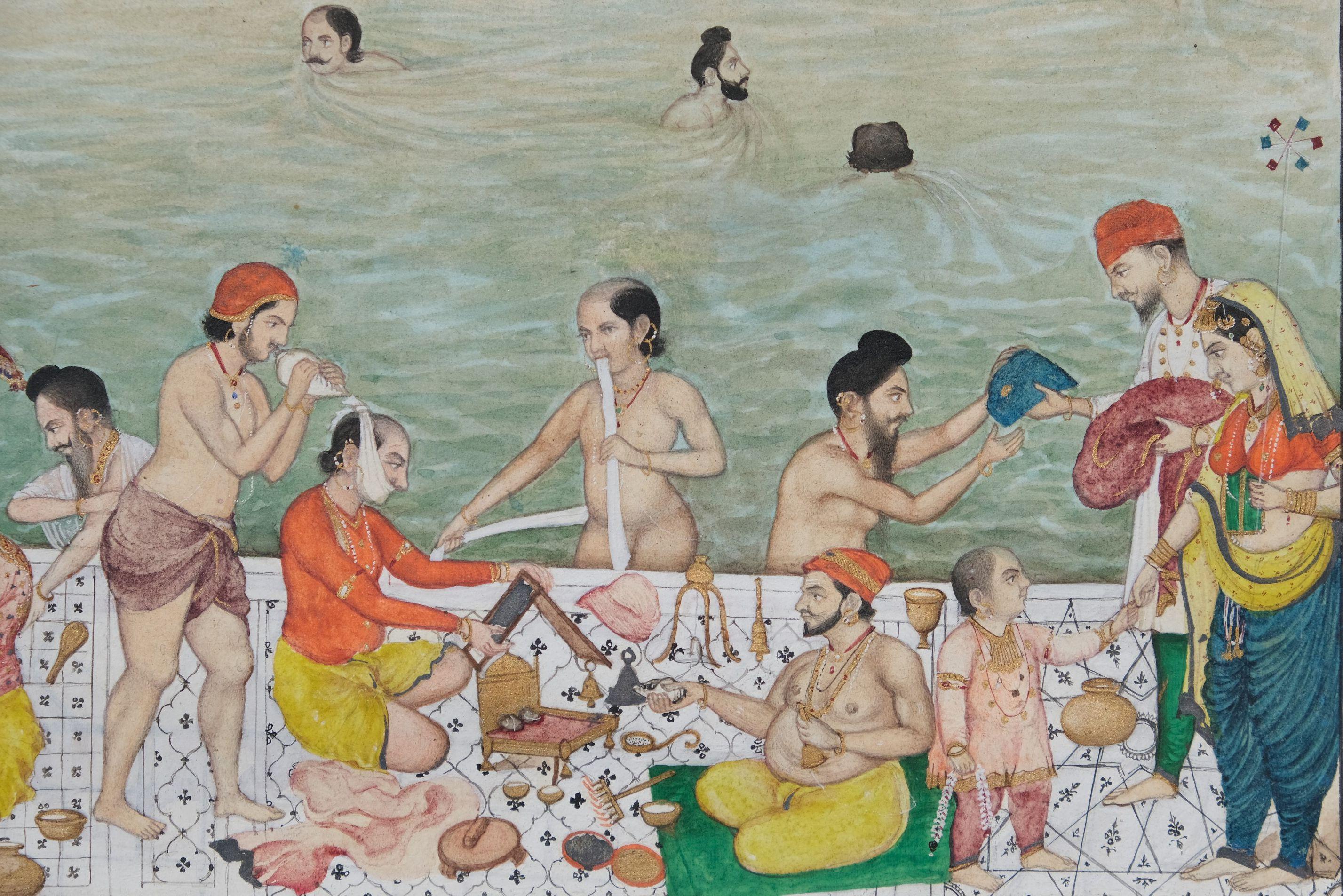 Scènes de vie au Harmandir Sahib, le Temple d'Or d'Amritsar Inde du nord, Penjab, Amritsar - Image 7 of 9