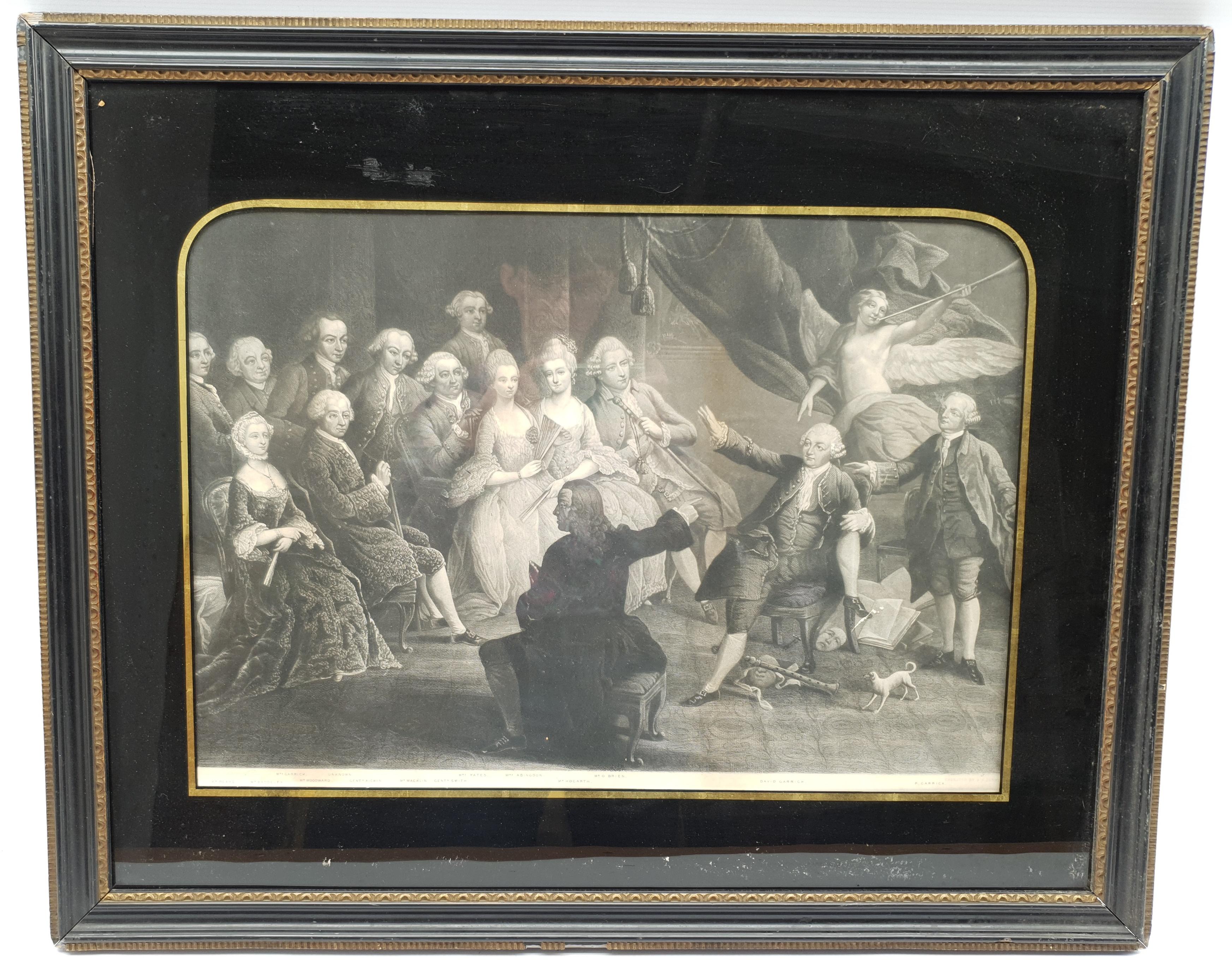 Henry Meyer RBA (British 1780-1847) after Charles Robert Leslie RA (1794-1859): 'Sir Roger De Coverl - Image 10 of 10