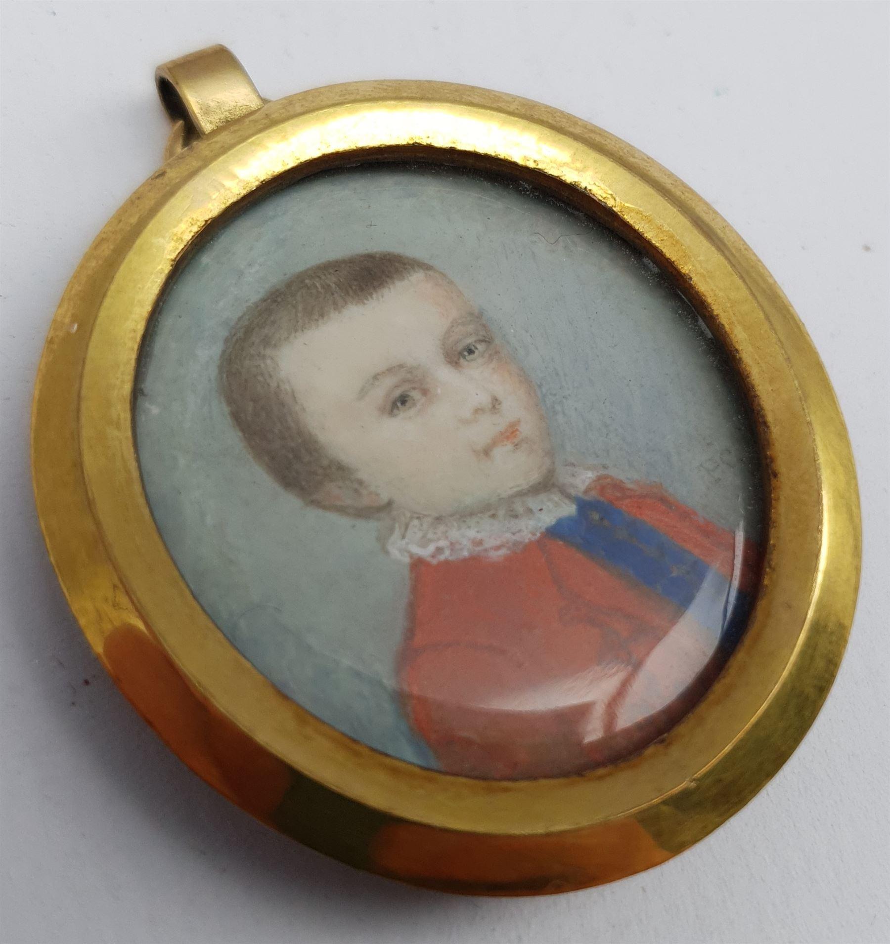 Penelope Carwardine (British 1729-1804): 'Justinian Saunders Bentley Nutt' - Image 3 of 7