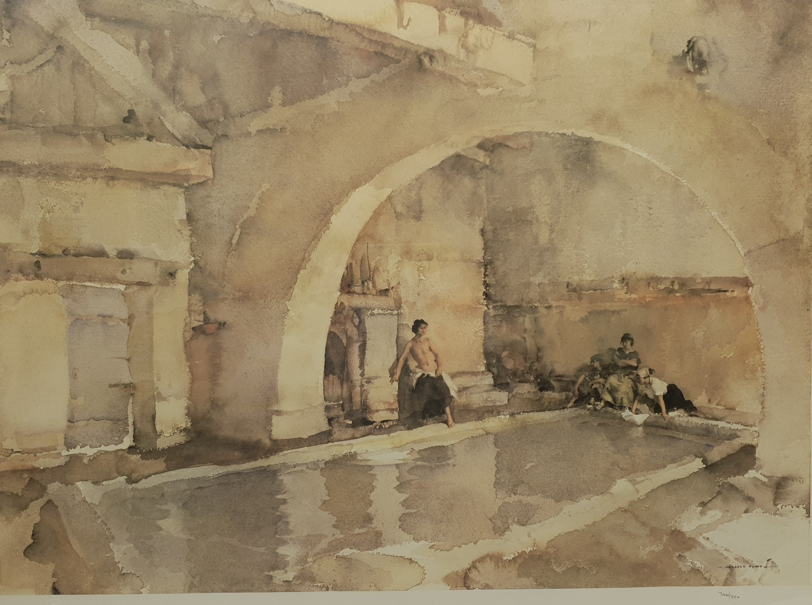 After Sir William Russell Flint (Scottish 1880-1969): 'La Belle Poseuse Nerac' and 'In Sunny Perigor - Image 3 of 4