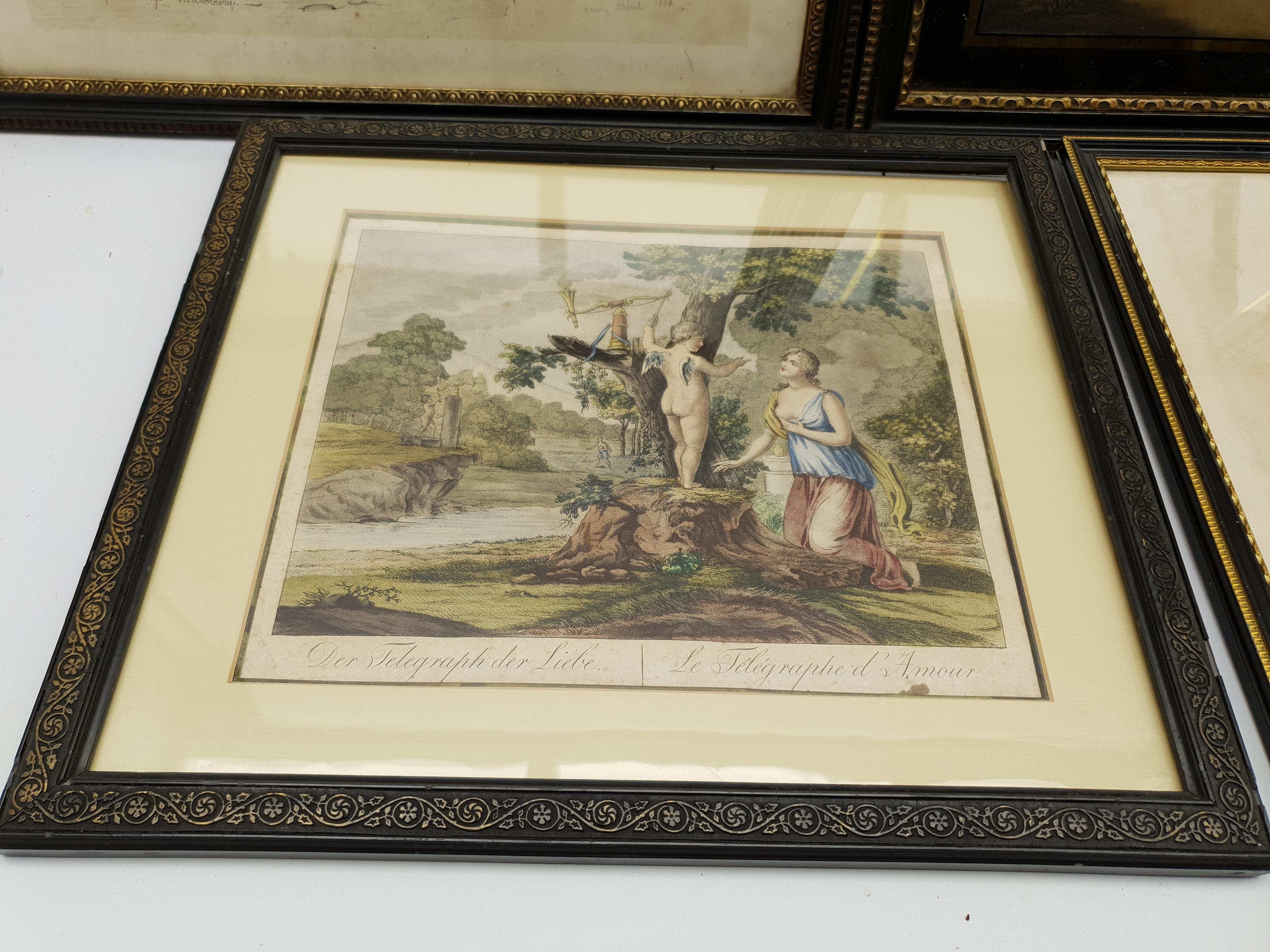 Henry Meyer RBA (British 1780-1847) after Charles Robert Leslie RA (1794-1859): 'Sir Roger De Coverl - Image 8 of 10