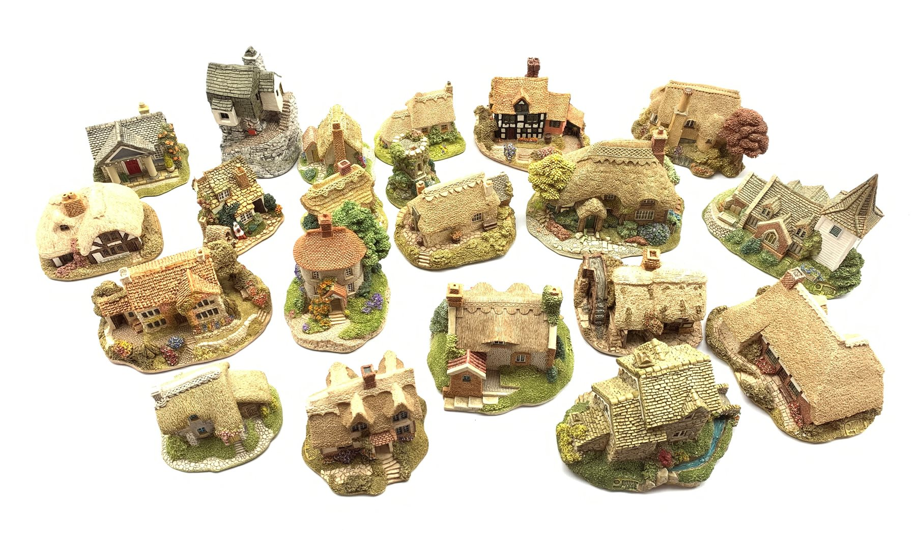 Twenty One Lilliput Lane models, all boxed and all with deeds except where stated comprising 'Tea Ca