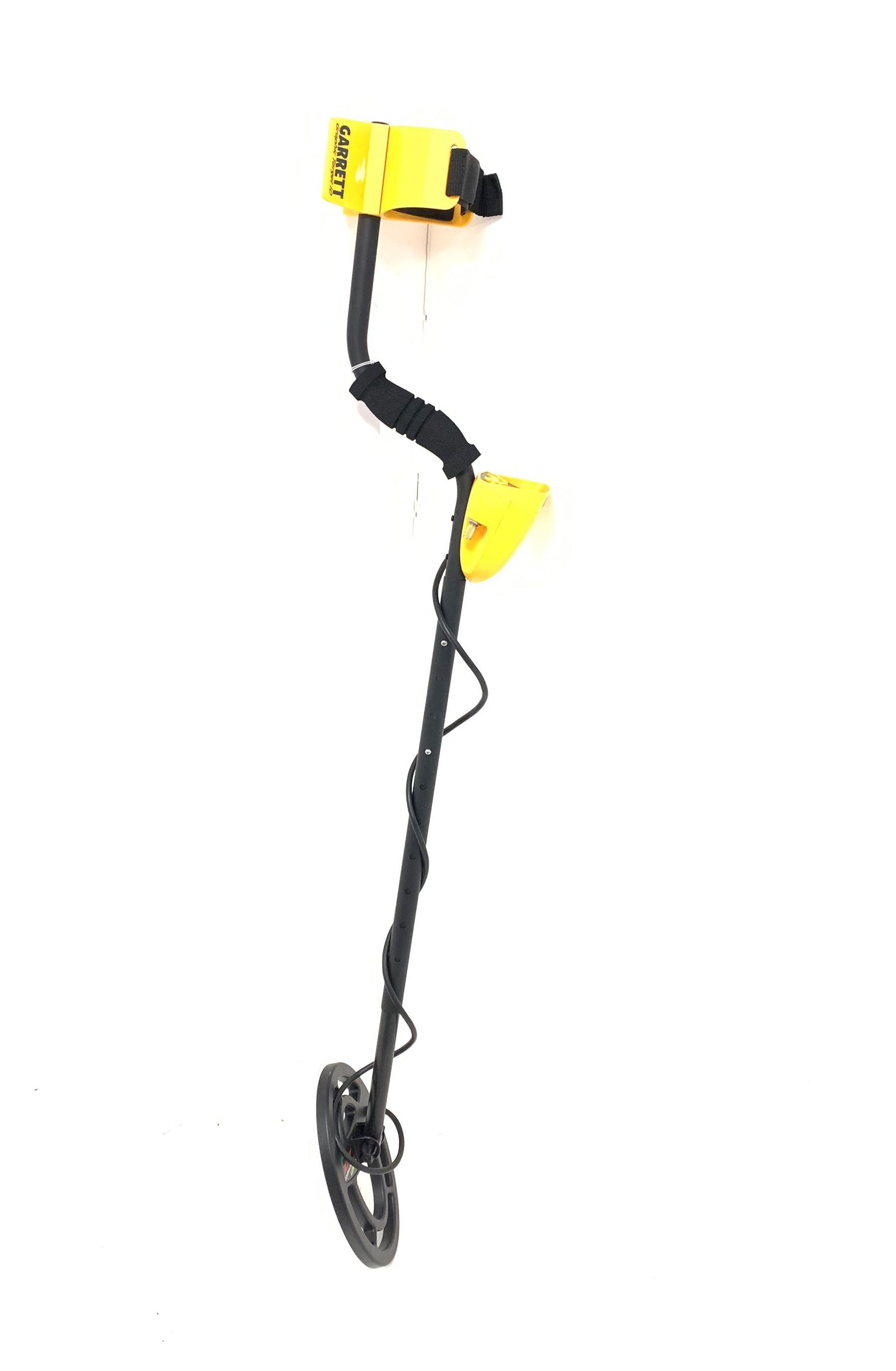 Garrett Ace 250 metal detector, H117cm