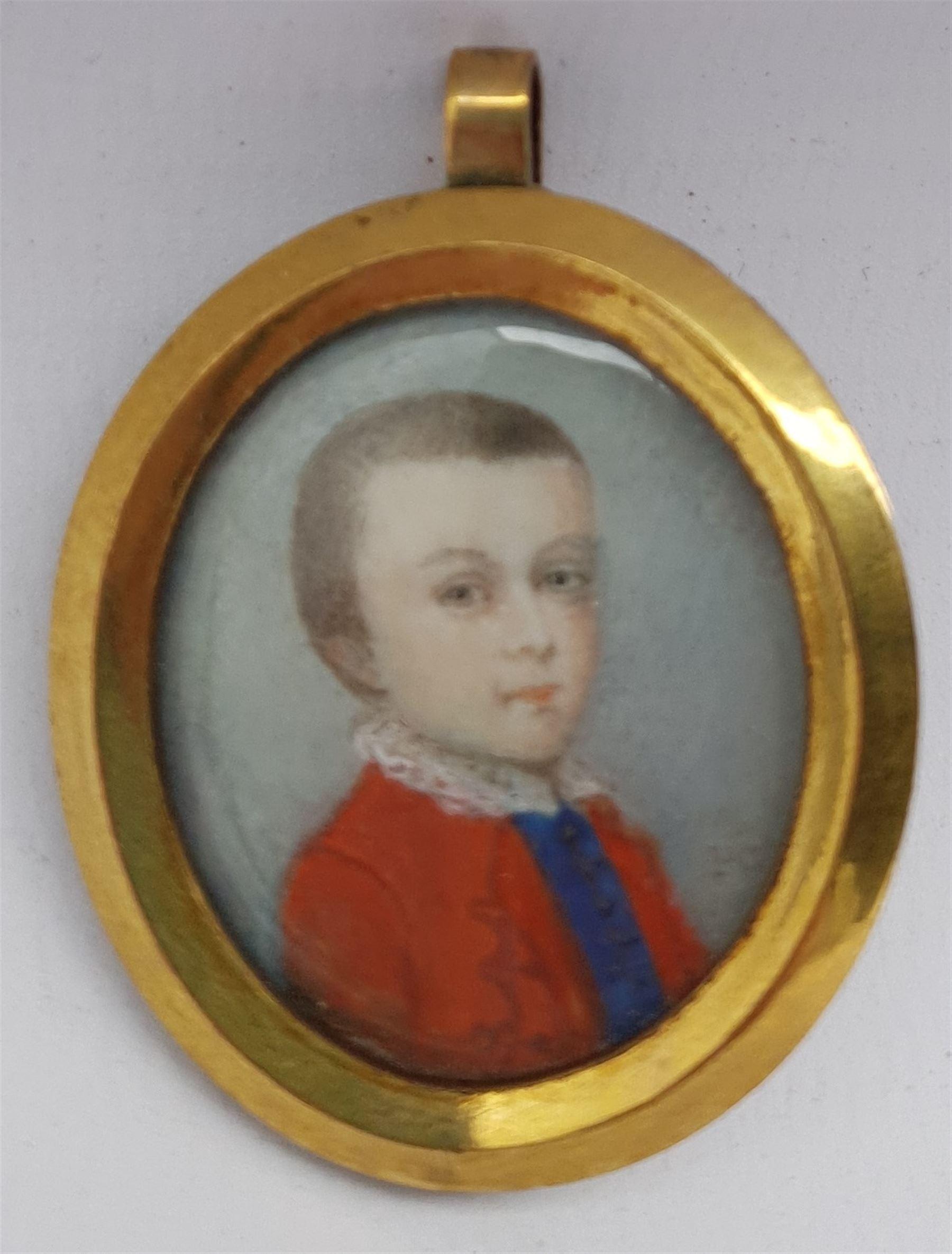 Penelope Carwardine (British 1729-1804): 'Justinian Saunders Bentley Nutt'