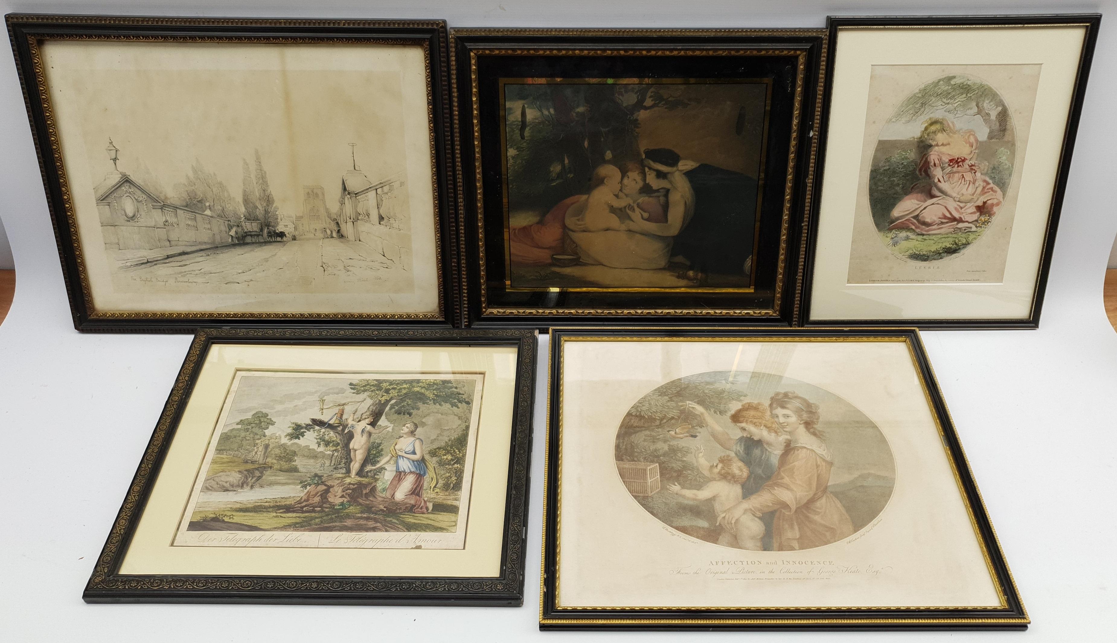 Henry Meyer RBA (British 1780-1847) after Charles Robert Leslie RA (1794-1859): 'Sir Roger De Coverl - Image 3 of 10