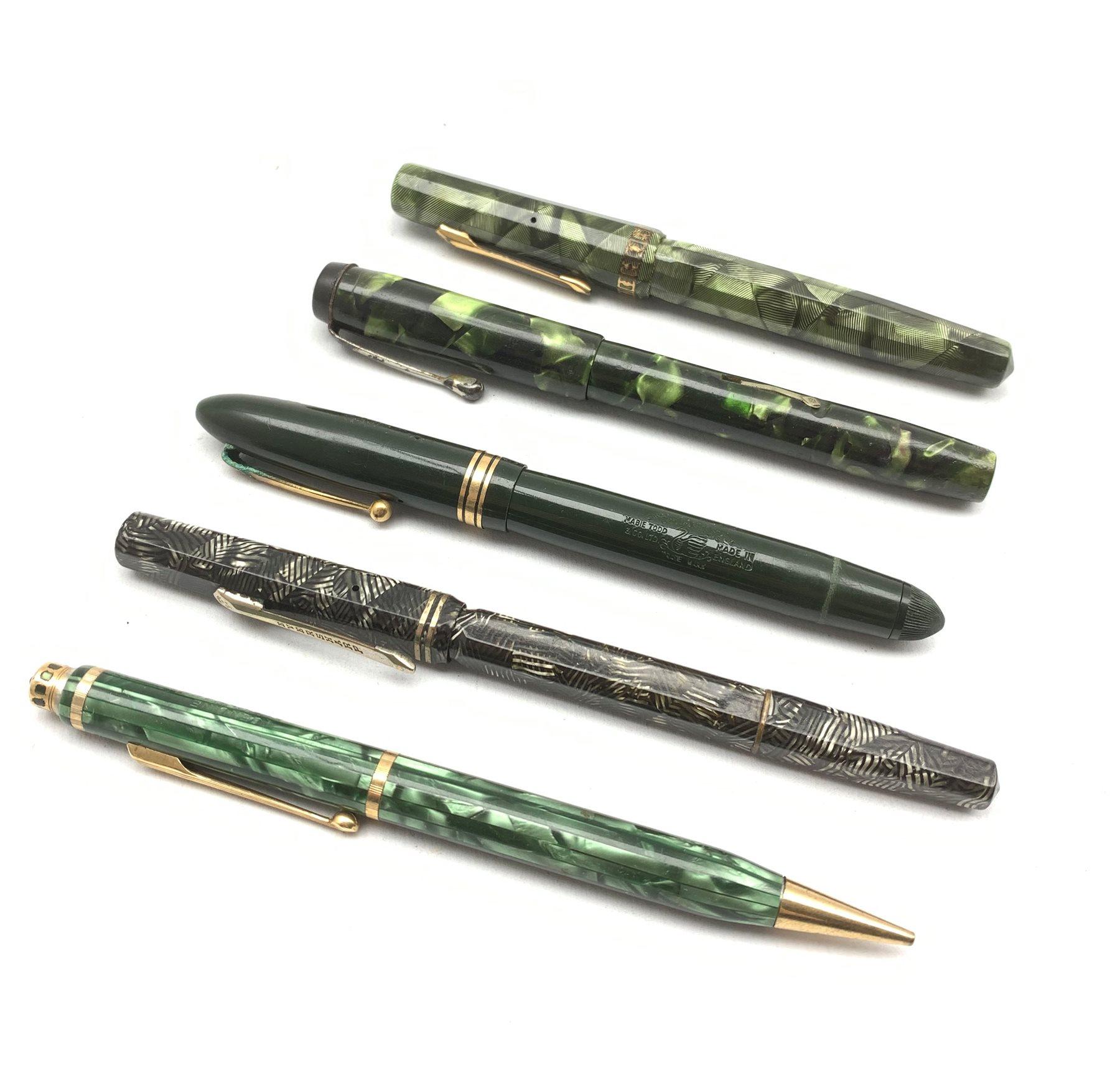 Conaway Stewart 'The Universal Pen' no. 479, Eversharp fountain pen with 14k nib, Eversharp propelli