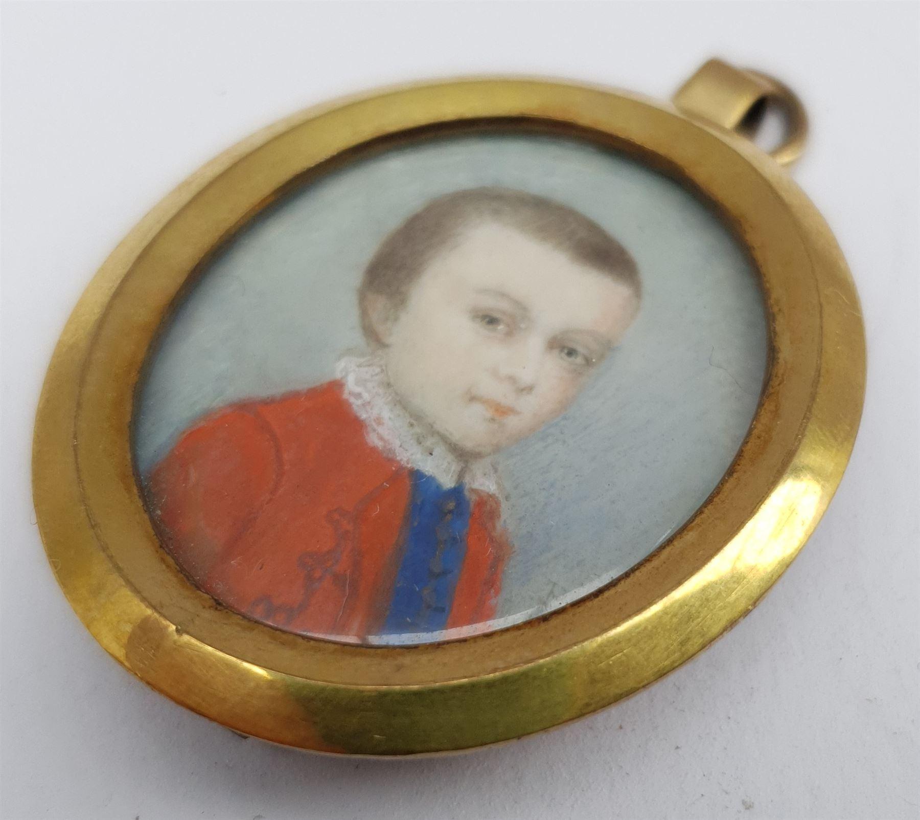 Penelope Carwardine (British 1729-1804): 'Justinian Saunders Bentley Nutt' - Image 2 of 7