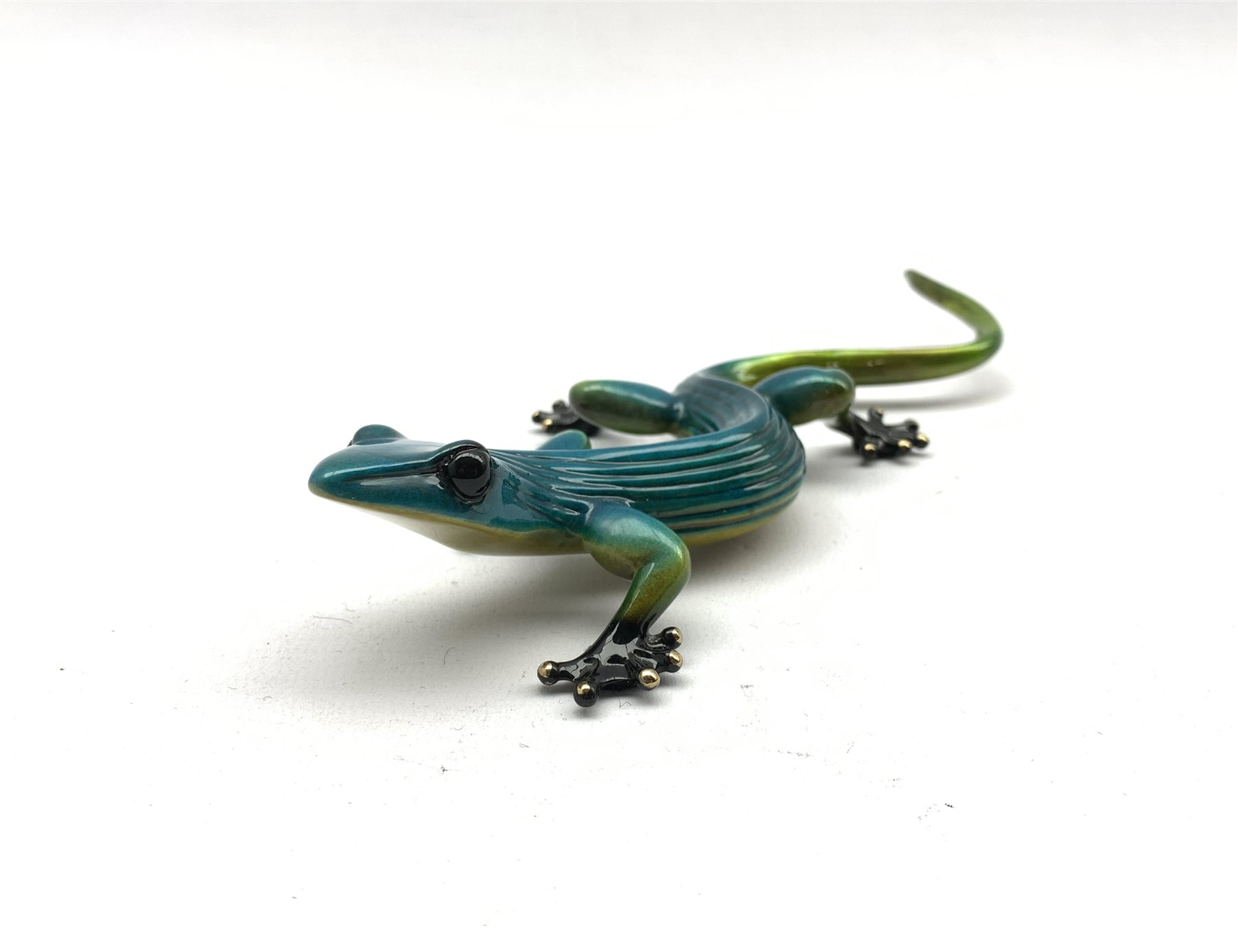 """Tim Cotterill (British 1950-): """"Ziggy"""" Frogman, limited edition released 2006 (287/1000) patina coat - Image 2 of 7"""