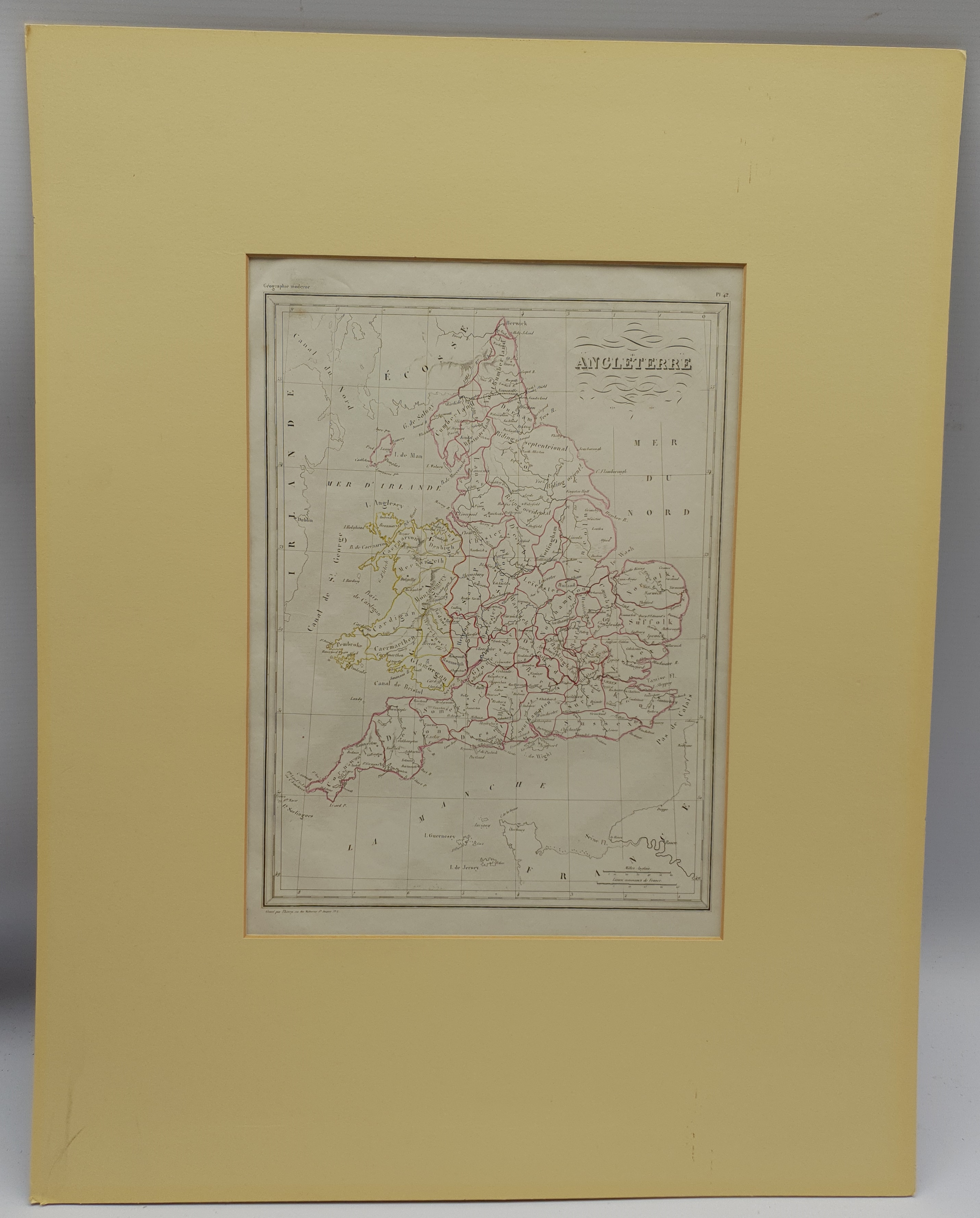 After Thomas Kitchin (British 1719-1784): 'A New and Most Accurate Map of the Roads of England and W - Image 3 of 3