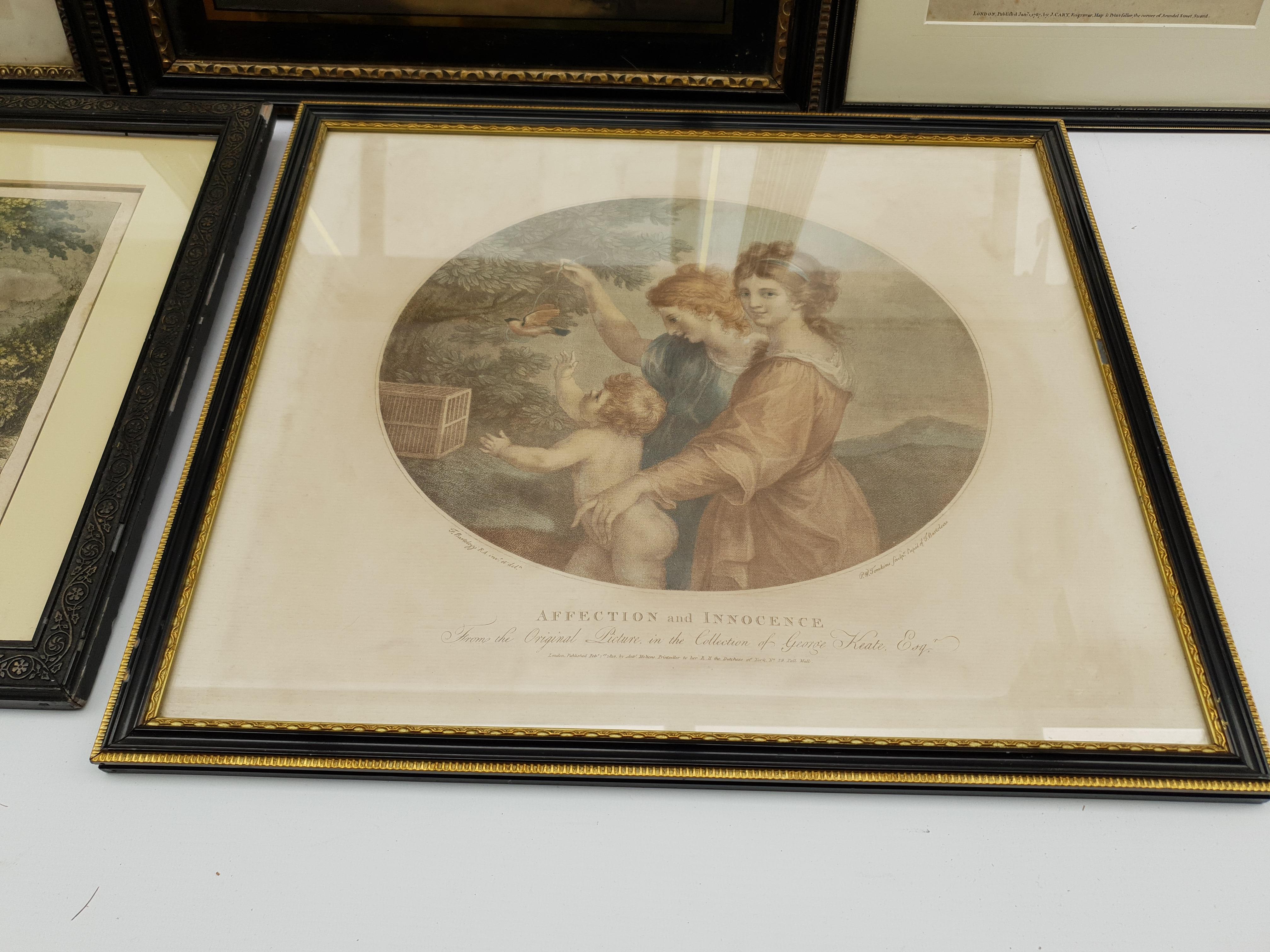 Henry Meyer RBA (British 1780-1847) after Charles Robert Leslie RA (1794-1859): 'Sir Roger De Coverl - Image 7 of 10