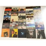 Collection of LP's to include Rolling Stones Sticky Fingers (COC 59100 A4/B4), Caravan - Canterbury