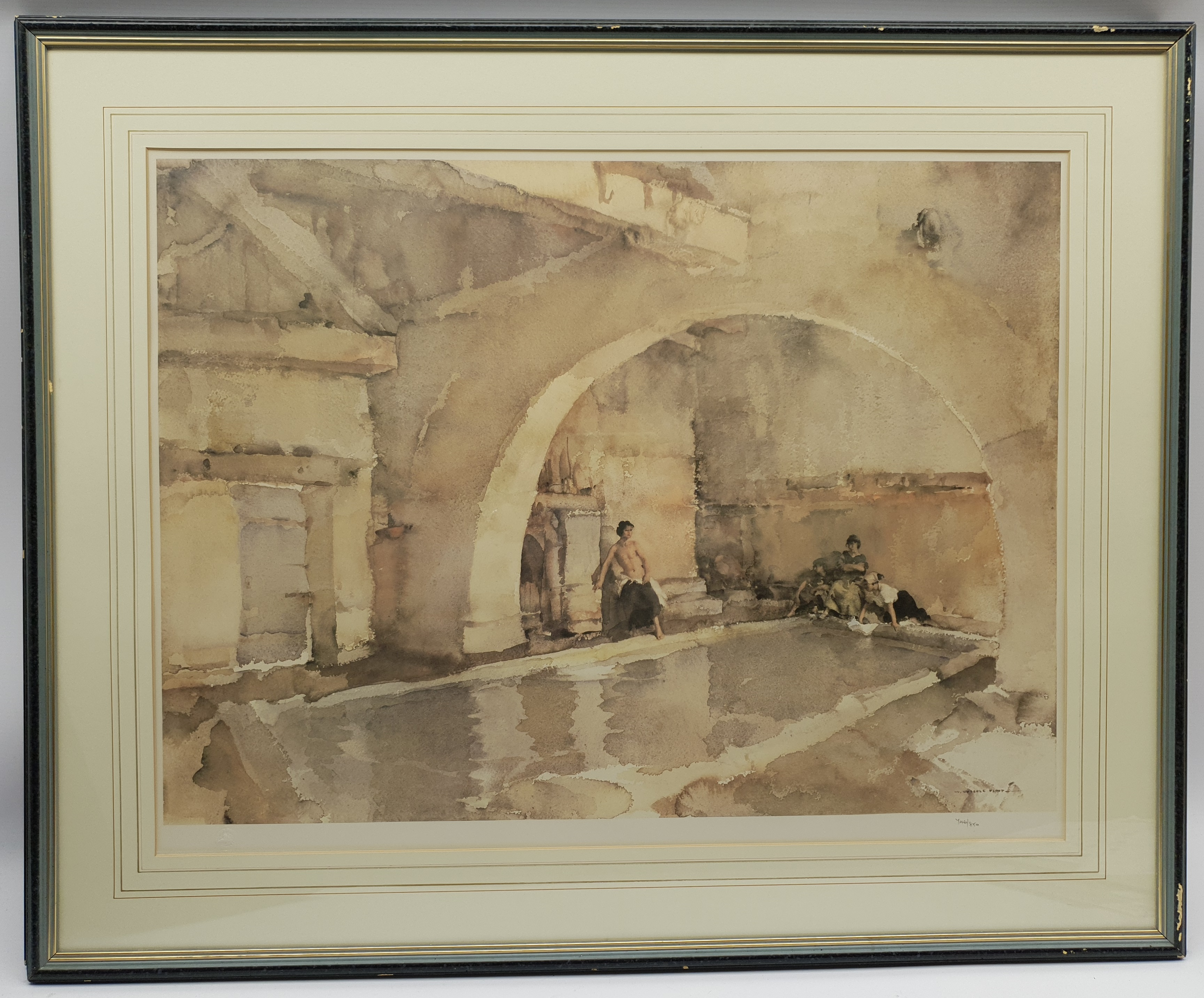 After Sir William Russell Flint (Scottish 1880-1969): 'La Belle Poseuse Nerac' and 'In Sunny Perigor - Image 4 of 4