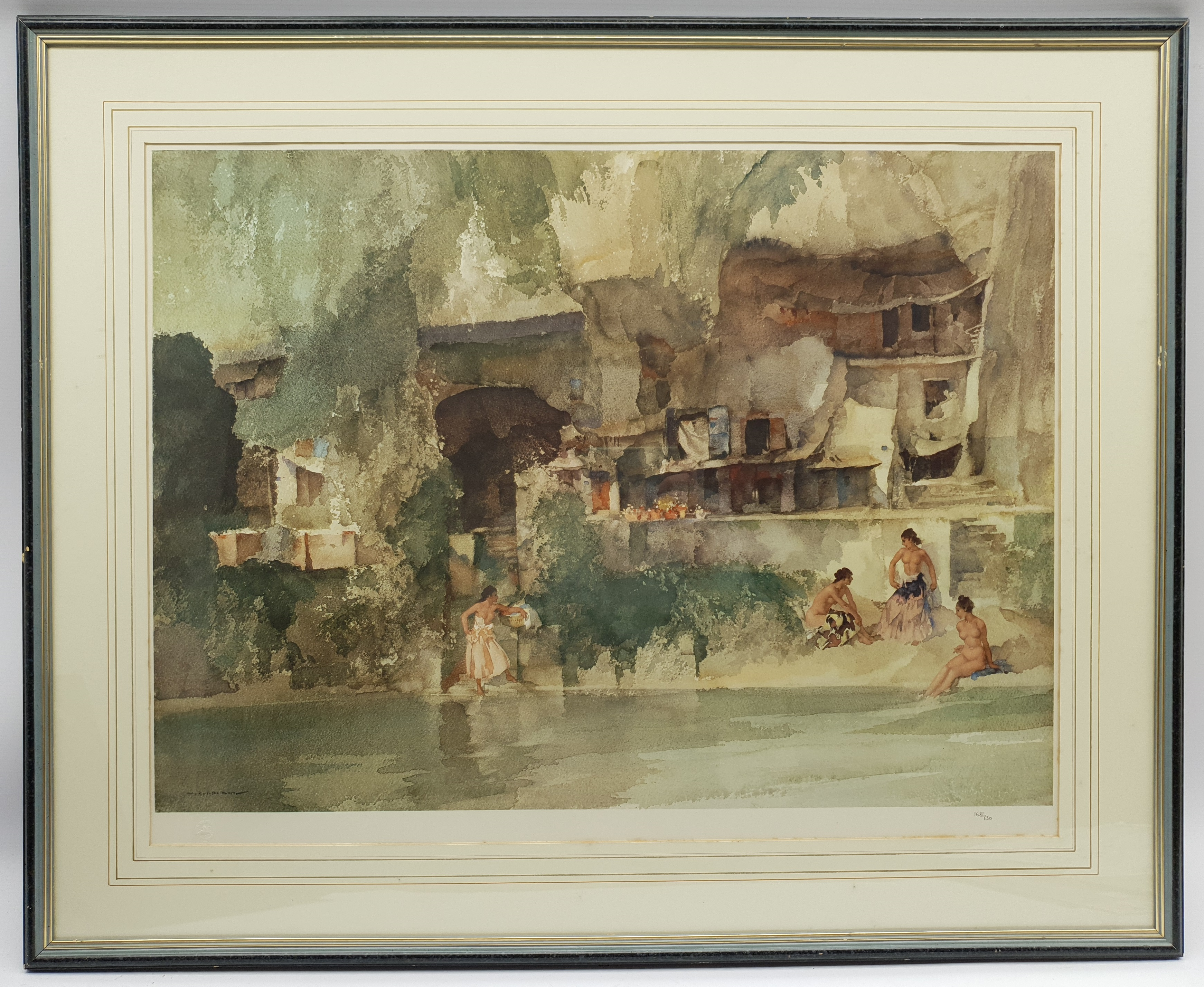 After Sir William Russell Flint (Scottish 1880-1969): 'La Belle Poseuse Nerac' and 'In Sunny Perigor - Image 2 of 4