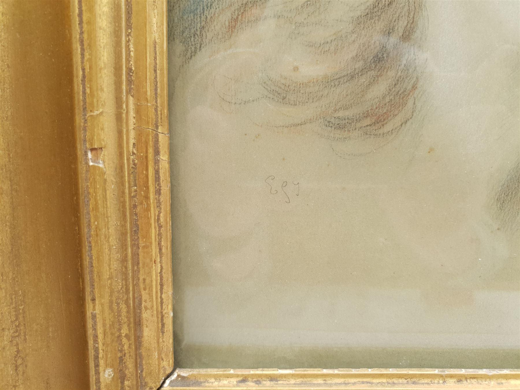 English School (19th century): Classical Maiden - Image 2 of 6