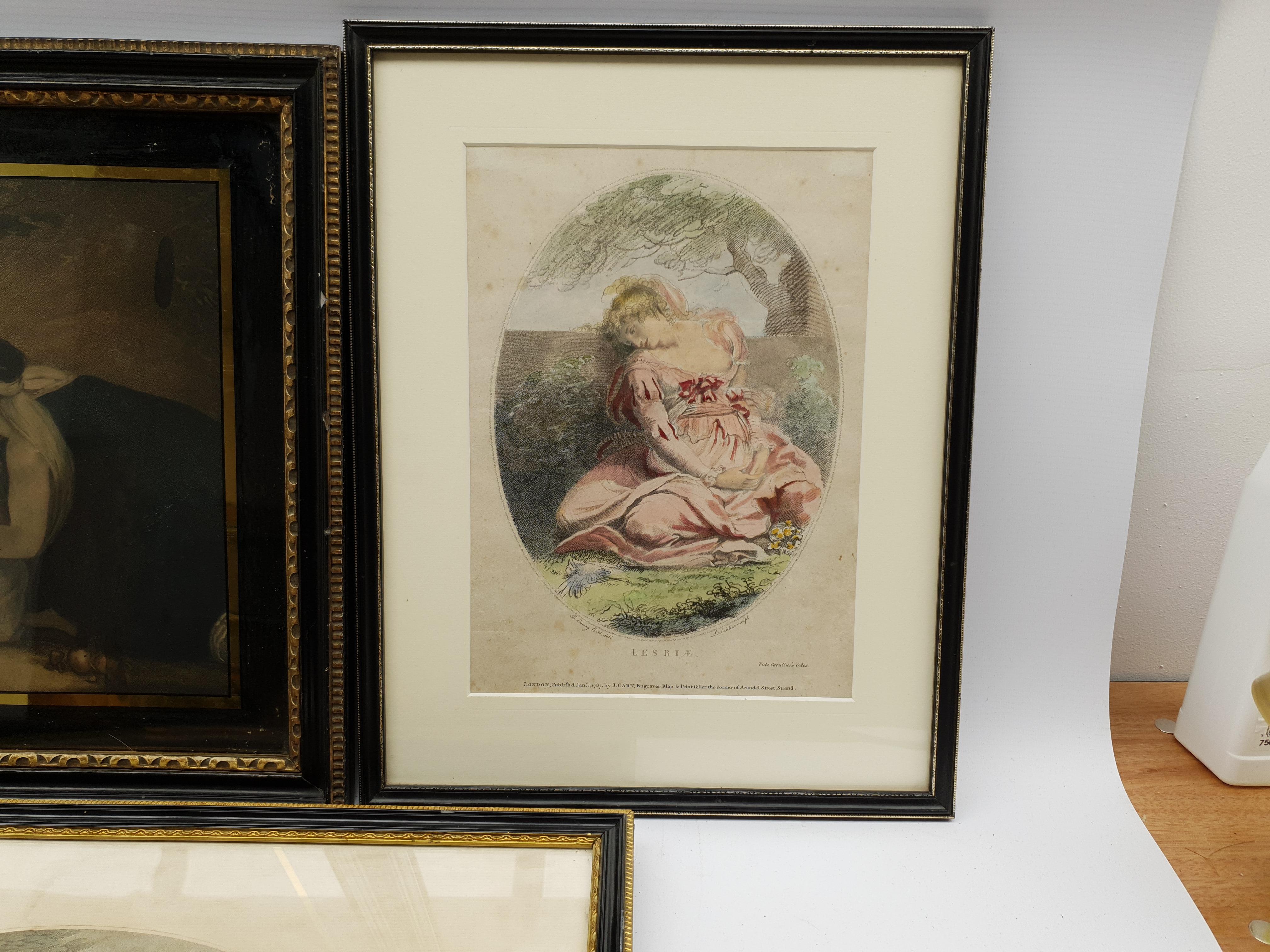 Henry Meyer RBA (British 1780-1847) after Charles Robert Leslie RA (1794-1859): 'Sir Roger De Coverl - Image 6 of 10