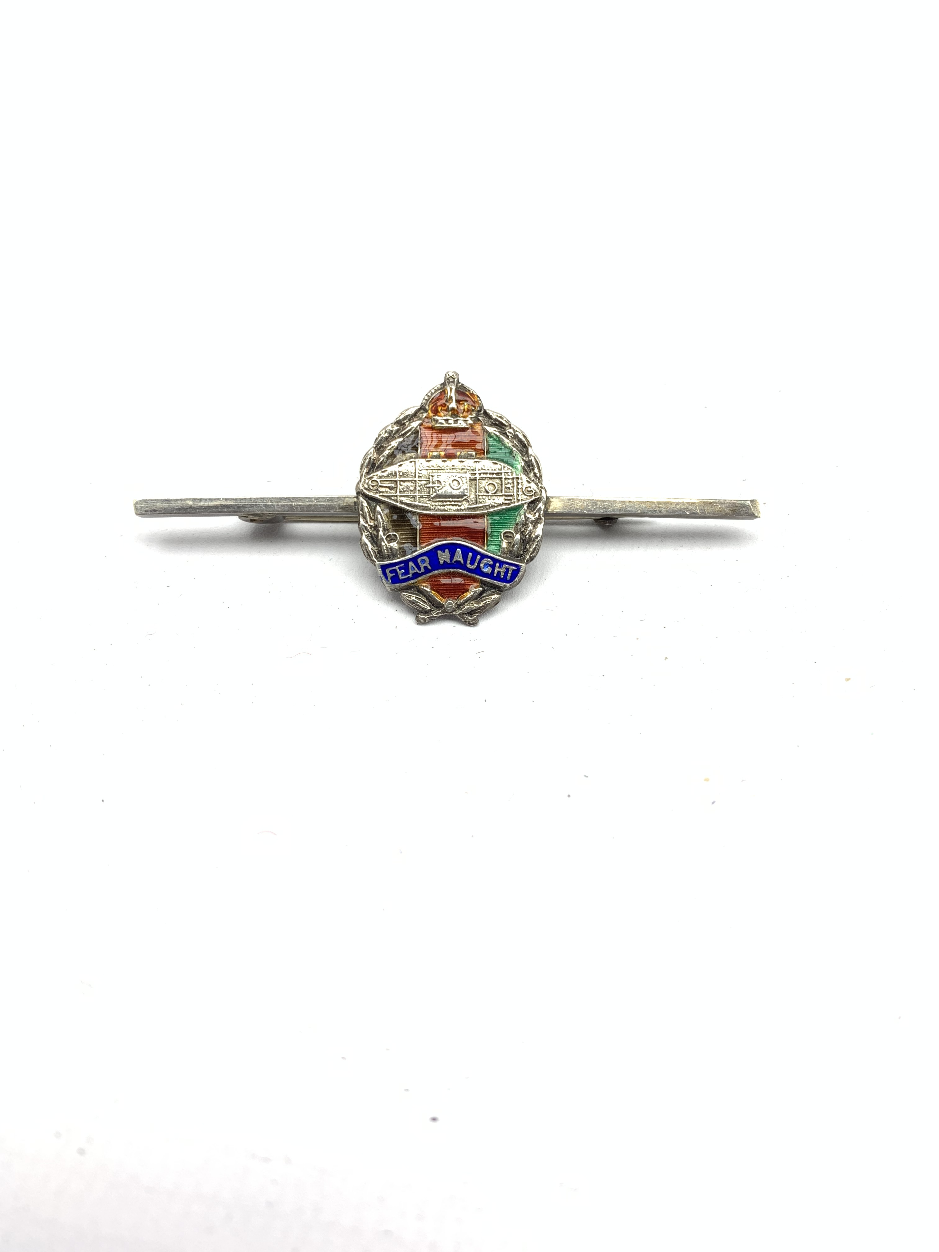 9ct gold and blue enamel brooch for XIII-XVIII Royal Hussars , four other Hussars brooches and clips - Image 11 of 15
