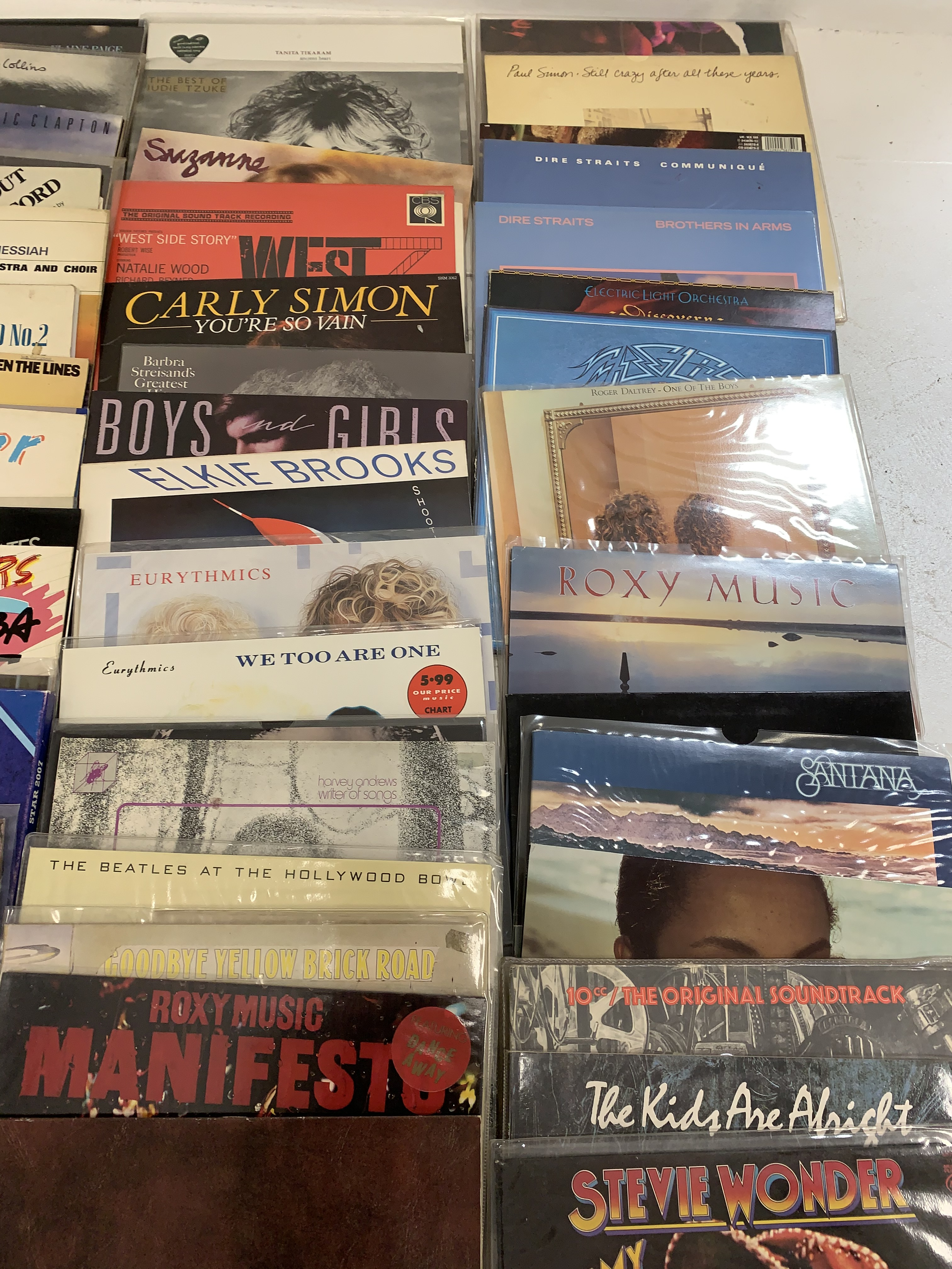 A quantity of LP's to include Elton John, Lionel Richie, Jimi Hendrix, The Beatles, Paul Simon, The - Image 6 of 7