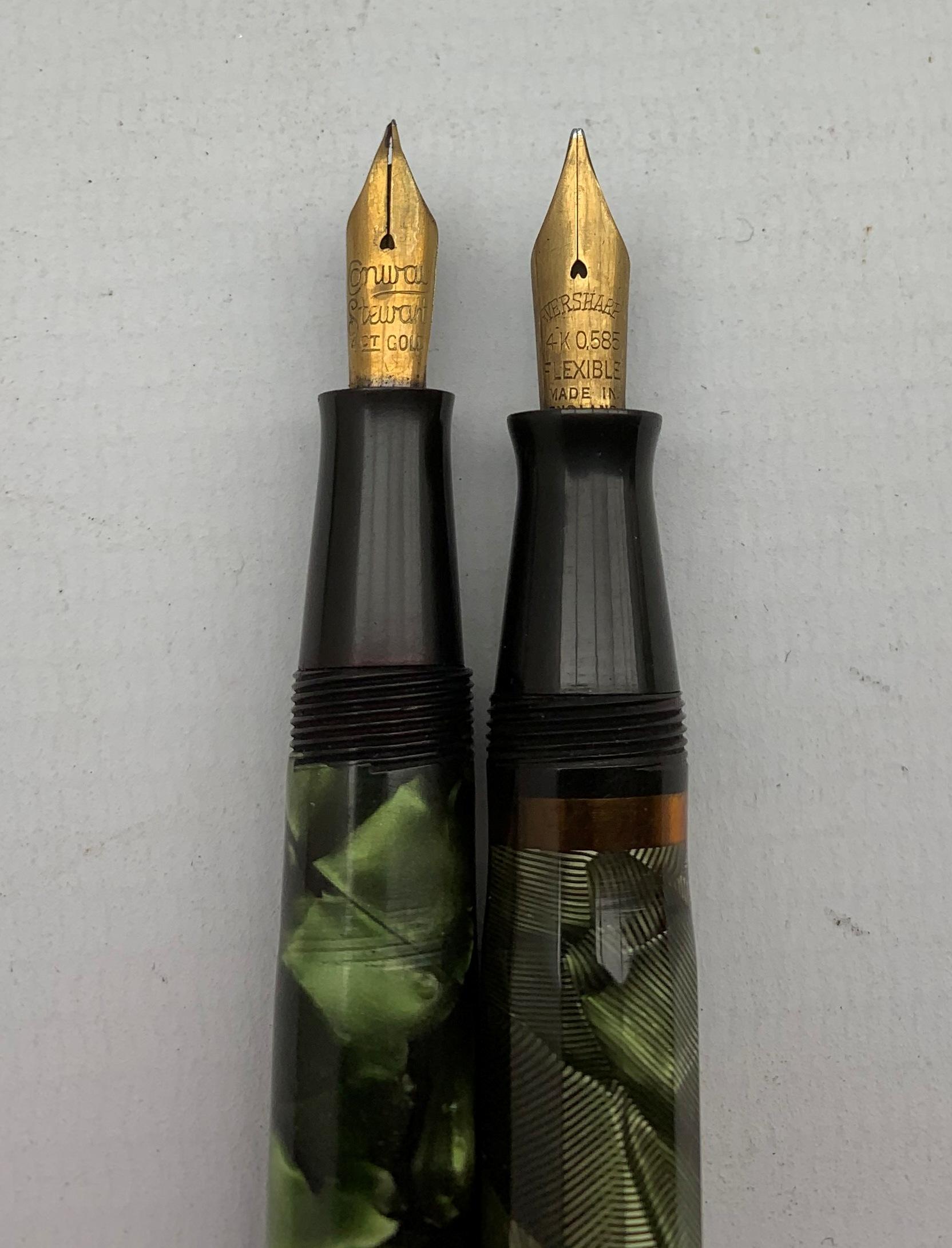 Conaway Stewart 'The Universal Pen' no. 479, Eversharp fountain pen with 14k nib, Eversharp propelli - Image 5 of 5