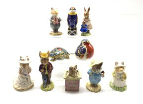 Two Beswick Beatrix Potter figures 'Tom Kitten and Butterfly' and 'Tom Thumb'