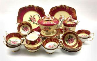 1950's Paragon Fine Bone China tea service for twelve persons