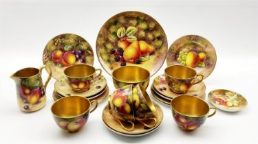 Royal Worcester tea service for six
