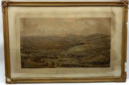 After William Ibbitt (British 1804-1869): 'Sheffield from Norfolk Park'