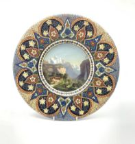 Thoune pottery charger