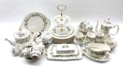 Royal Albert Brigadoon pattern dinner