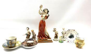 G Armani figure of a dancer