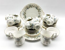 Royal Albert Brigadoon pattern tea service for twelve