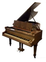 C. Bechstien boudoir grand piano