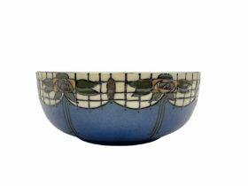 Wood & Sons Trellis pattern bowl designed by Frederick Rhead D21cm