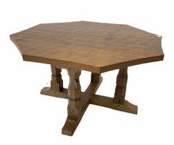 Robert 'Mouseman' Thompson of Kilburn - Yorkshire oak coffee table