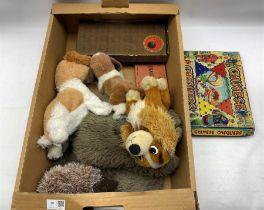Indoor carpet bowls in box