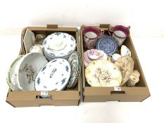 Collection of ceramics to include Wedgwood bowls