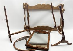 19th century toilet mirror