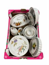 Royal Worcester Evesham part dinner ware and other similar dinner ware in one box