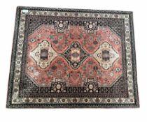 Turkish design ground rug