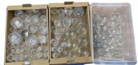 Quantity of glassware to include Stuart drinking glasses