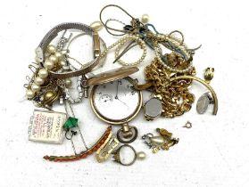 Elgin gold-plated full hunter lever pocket watch