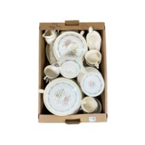 Royal Doulton Fairfield pattern dinner and tea service 44 pieces