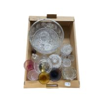 Edinburgh International glass fruit bowl